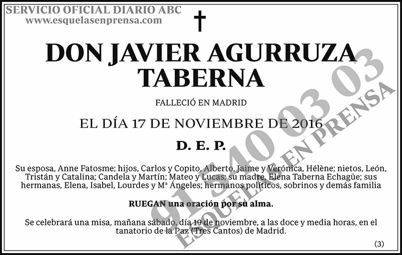 Javier Agurruza Taberna